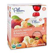 Plum Organics Stage 2 Peach, Apricot, & Banana