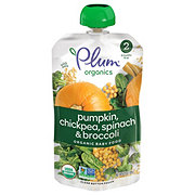 Plum Organics Stage 2 Spinach, Pumpkin and Chickpea  Baby Food