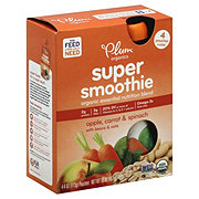 Plum Organics Super Smoothie Apple