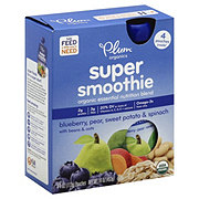 Plum Organics Super Smoothie Blueberry
