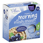 Plum Organics Tots Morning Mish Mash Blueberry Oats & Quinoa