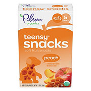 Plum Organics Tots Peach Teensy Fruits Snacks