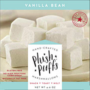 Plush Puffs Vanilla Bean Gourmet Marshmallows