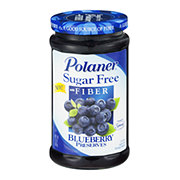 Polaner Sugar Free Blueberry Preserves with Fiber