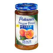 Polaner Sugar Free Peach Preserves with Fiber