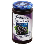 Polaner Sugar Free With Fiber Concord Grape Jam