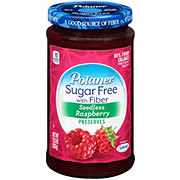 Polaner Sugar Free With Fiber Seedless Raspberry Preserves