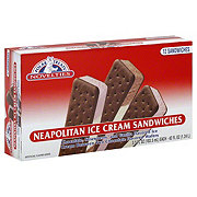Polar Treats Neapolitan Ice Cream Sandwiches