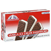 Polar Treats Vanilla Ice Cream Sandwiches