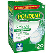 Polident 3 Minute Denture Cleanser