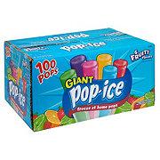 Pop Ice 6 Fruity Flavored Freezer Pops