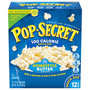 Pop Secret 100 Calorie Homestyle Popcorn Snack Size Bags