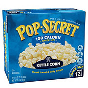 Pop Secret 100 Calorie Microwave Kettle Corn Snack Size Bags