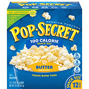 Pop Secret 100 Calorie Pop Butter Microwave Popcorn Snack Bags