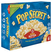 Pop Secret Extra Butter Microwave Popcorn