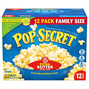 Pop Secret Extra Butter Microwave Popcorn Value Size