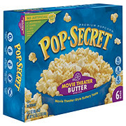 Pop Secret Microwave Movie Theater Butter Premium Pop Corn
