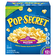 Pop Secret Movie Theater Butter Microwave Popcorn Snack Size Bags