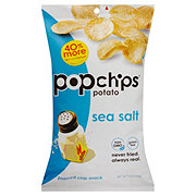 Popchips Potato Sea Salt Potato Snacks