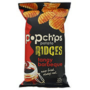 Popchips Tangy Barbeque Potato Ridges