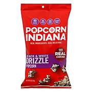 Popcorn, Indiana Drizzled Black & White Kettle Corn