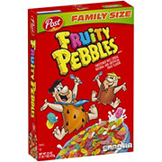 Post Fruity Pebbles Cereal Family Size