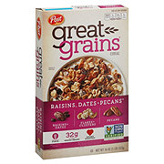 Post Great Grains Raisins Dates and Pecans Cereal