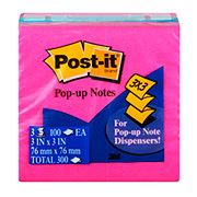 Post-it 3x3 in Pop-Up Notes