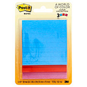 Post-it Notes, 3x3 in, Jaipur Collection Lined Pads
