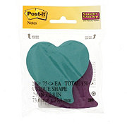 Post-it Super Sticky Heart Shape Notes