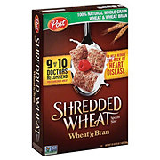 Post Shredded Wheat 'n Bran Cereal