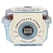 Pots & Co Chocolate Fudge Lava Cake