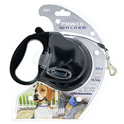 Power Walker Black Retractable Leash Small