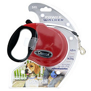 Power Walker Red Retractable Leash Small