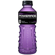 Powerade Ion4 Grape Flavor Sports Drink and Vitamins