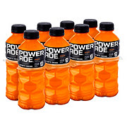Powerade Orange Sports Drink + B Vitamins 8 PK Bottles