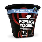 Powerful Yogurt Blueberry Acai Greek Non-Fat Yogurt