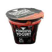 Powerful Yogurt Strawberry Greek Non-Fat Yogurt