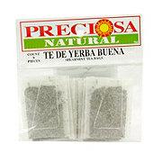Preciosa Natural Yerba Buena Tea Bags