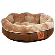 Precision Pet Products Snoozzy Round ShearlingBed 17 x 4.5 in