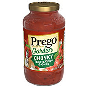 Prego Chunky Garden Tomato, Onion and Garlic Pasta Sauce