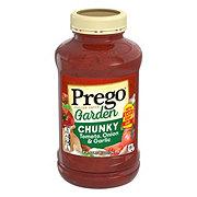Prego Chunky Garden Tomato Onion and Garlic Pasta Sauce