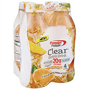 Premier Protein Clear Protein Drink Orange Mango