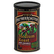 Premier Roasters Gourmet Medium Roast Whole Bean Coffee
