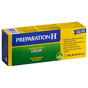 Preparation H Maximum Strength Pain Relief Hemorrhoidal Cream with Aloe