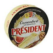 President Camembert Soft-Ripened Cheese