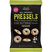 Pressels Sesame Thin and Crispy Pretzel Chips