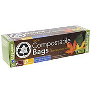 Presto Compostable Yard & Garden Trash Bag, 33 GAL
