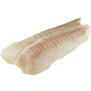 Previously Frozen Alaska Cod Fillet, Wild Caught