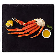Previously Frozen Cooked Snow Crab Cluster Medium, Wild Caught